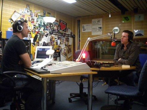Im Radiostudio